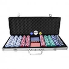 Pokera komplekts - 500 gb