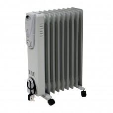 2000W eļļas radiatora elektriskais sildītājs