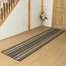 Ainsley brūns priekšnama paklājs 420 x 80 cm