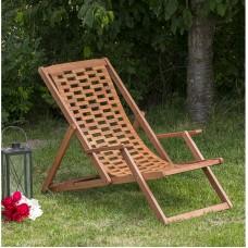 Izlaižams sauļošanās krēsls