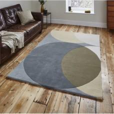 Avaraja paklājs no vilnas, 150 x 230 cm