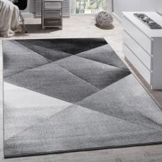 Siena Grey/Black paklājs 120 x 170 cm