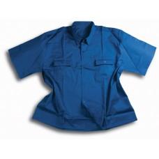 Darba krekls ar īsām piedurknēm ar divām kabatām