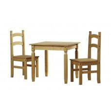 Komplekts-galds+2 krēsli