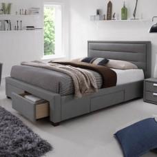 Caren Gray 4 atvilktņu gulta 150 x 200 cm