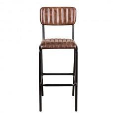 Ādas bāra krēsls - Deane 66cm