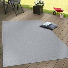 Edington Flatweave pelēks paklājs 200 x 280 cm