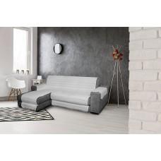 Dīvāna pārklājs 240 cm, pelēks
