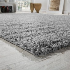 Paklājs Shaggy in grau 200 x 280 cm