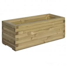 Koka puķu kaste