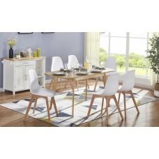 Komplekts-galds+6 krēsli