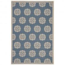 Goodson-Cream/ Blue, iekštelpu / āra paklājs 120x 170 cm
