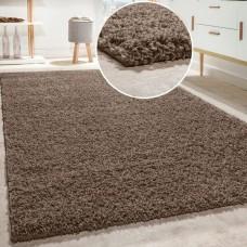 Shaggy Taupe paklājs 160 x 220 cm