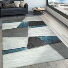 Alena Grey/Turquoise paklājs 120 x 170 cm