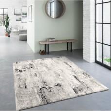 Weisinger pelēks / balts paklājs  120 x 170 cm