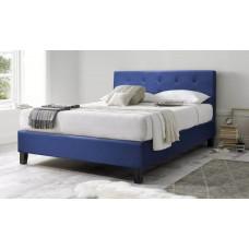 Gulta Bleu Fonce ar matraci 140 x 190 cm