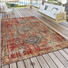 Melksham Flatweave Red Indoor/Outdoor paklājs 120 x 170 cm